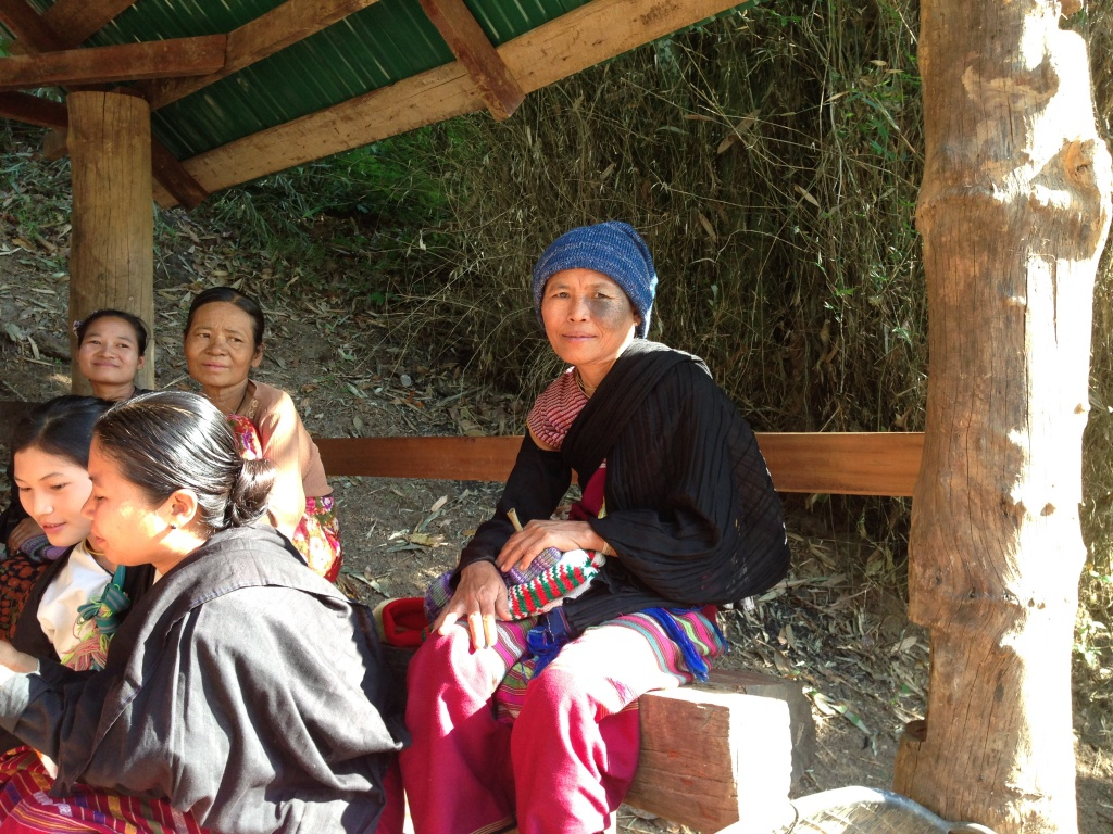 Thank you Sisters of Charity for the warm hats for villagers and patients at the Laytonku Community Health center on the Thai Burma border 2015 (1)